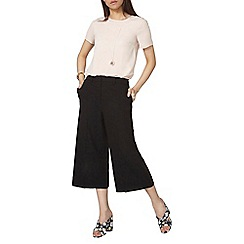 Dorothy Perkins - Black cullote trousers