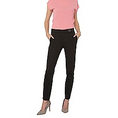 Dorothy Perkins - Tall black cotton sateen trousers