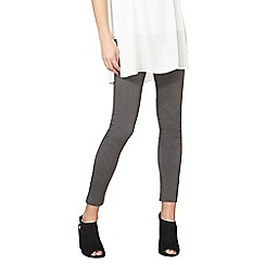 Dorothy Perkins - Grey pull on beganline trousers