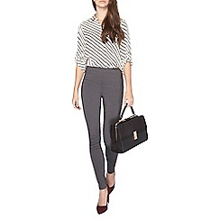 Dorothy Perkins - Tall grey pull on bengaline trousers