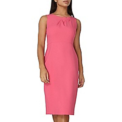 Dorothy Perkins - Pink fold detail pencil dress
