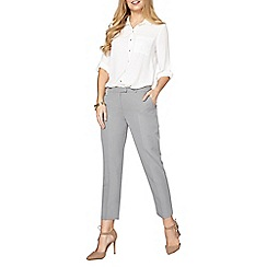 Dorothy Perkins - Grey suit trousers