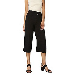 Dorothy Perkins - Extended tab wide crop trousers
