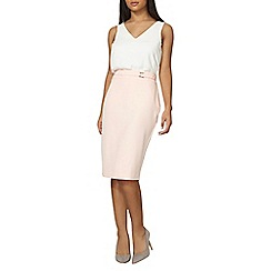 Dorothy Perkins - Blush belted skirt