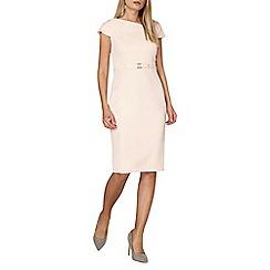 Dorothy Perkins - Blush belted dress