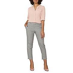 Dorothy Perkins - Herringbone ankle grazer trousers