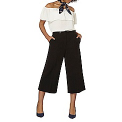 Dorothy Perkins - Belted wide crop trousers