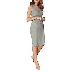 Dorothy Perkins - Herringbone button dress