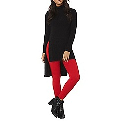 Dorothy Perkins - Red pull on bengaline trousers