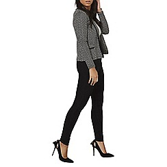 Dorothy Perkins - Black and white boucle jacket