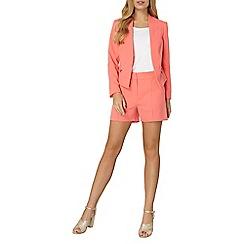 Dorothy Perkins - Coral zip pocket jacket