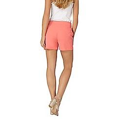 Dorothy Perkins - Coral crepe shorts