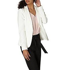 Dorothy Perkins - Ivory pique jacket