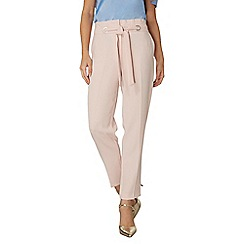 Dorothy Perkins - Blush eyelet tie soft trousers