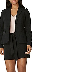 Dorothy Perkins - Black one button blazer