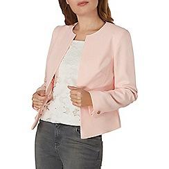 Dorothy Perkins - Pink crepe crop jacket