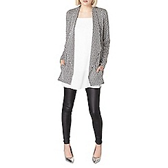 Dorothy Perkins - Jacquard waterfall throw on jacket