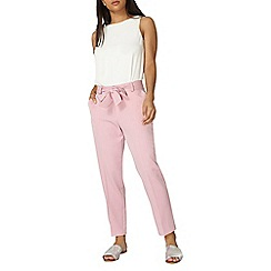 Dorothy Perkins - Pink stripe tapered trousers