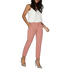 Dorothy Perkins - Rose double loop ankle grazers trousers