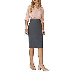 Dorothy Perkins - Navy pencil skirt