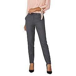 Dorothy Perkins - Grey slim leg trousers