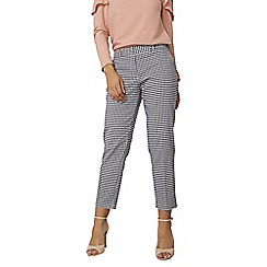 Dorothy Perkins - Gingham ankle grazer trousers