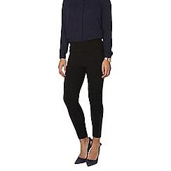 Dorothy Perkins - Black crop skinny bengaline trousers