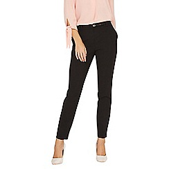 Dorothy Perkins - Black belted trousers