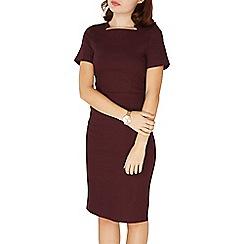 Dorothy Perkins - Port square neck pencil dress