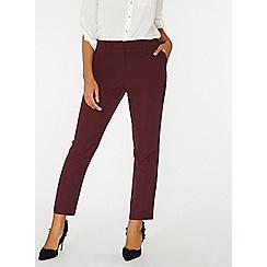 Dorothy Perkins - Port slim leg trousers