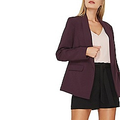 Dorothy Perkins - Purple tailored fit 1 button blazer