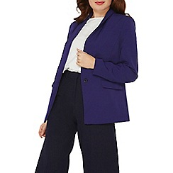 Dorothy Perkins - Cobalt crepe 1 button blazer