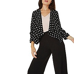 Dorothy Perkins - Spotted crepe waterfall jacket