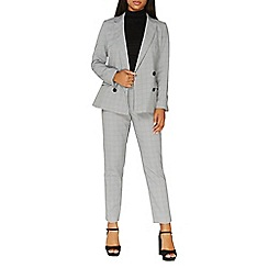 Dorothy Perkins - Multi checked suit jacket
