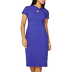 Dorothy Perkins - Cobalt twist detail pencil dress