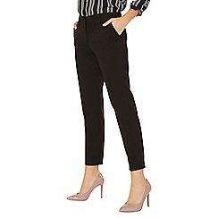 Dorothy Perkins - Black split hem ankle grazer trousers