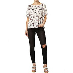 Dorothy Perkins - Shadow butterfly top