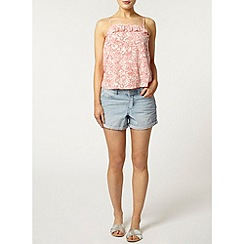 Dorothy Perkins - Coral dotty floral camisole