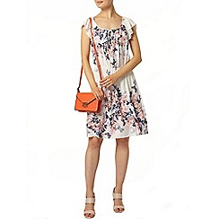 Dorothy Perkins - Ivory and pink butterfly dress