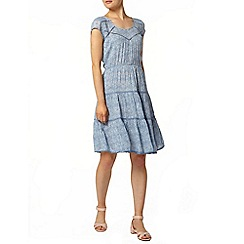 Dorothy Perkins - Tile print ladder lace dress