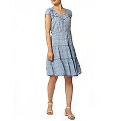 Dorothy Perkins - Tile print ladder lace dress