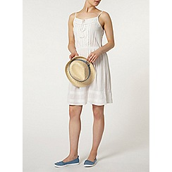 Dorothy Perkins - Ivory embroidered camisole dress