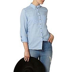 Dorothy Perkins - Chambray twill casual shirt