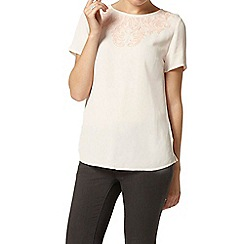 Dorothy Perkins - Blush cornelli detail top