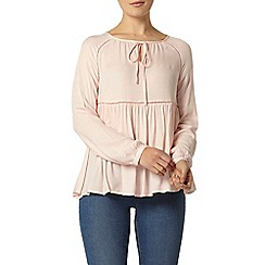 Dorothy Perkins - Blush gypsy top