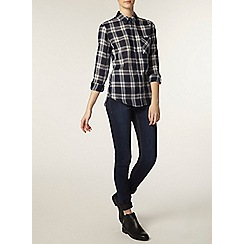 Dorothy Perkins - Tall navy check shirt