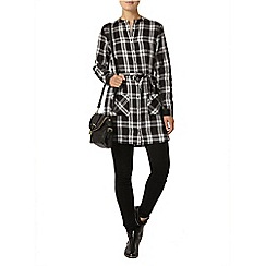 Dorothy Perkins - Long sleeved check shirt dress