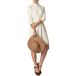 Dorothy Perkins - Ivory lace insert dress