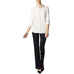 Dorothy Perkins - Tall white twill safari shirt