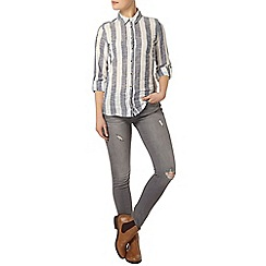 Dorothy Perkins - Wide stripe casual shirt